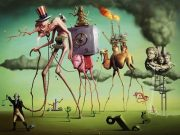 The American Dream by Salvador Dali