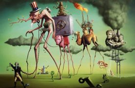 The American Dream by Salvador Dali