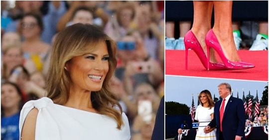 First Lady Melania, her Magnificence
